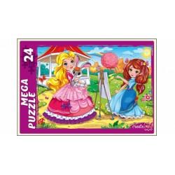 """МЕГА-Пазл """"Маленькая принцесса"""" (24 элемента)"""