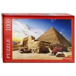 """Пазл """"Египет. Пирамиды и верблюд"""" (1000 элементов)"""