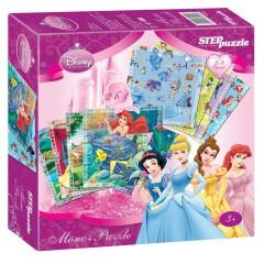 "Игра ""Принцессы"" Мемо-Puzzle (Disney)"