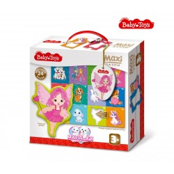 """MAXI  Пазлы """"Милашки"""" BABY TOYS (24 элемента)"""