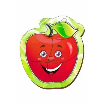 """Пазл деревянный маленький """"Яблоко красное"""""""