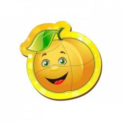 """Пазл деревянный маленький """"Яблоко жёлтое"""""""