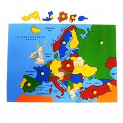 """Пазл """"Карта Европы"""""""