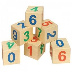 Детские кубики Кубики Веселый счет