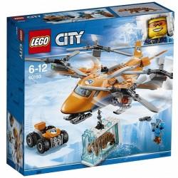 Конструктор LEGO City 60193: Арктическая экспедиция: Арктический вертолёт