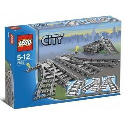 Конструктор LEGO City 7895: Железнодорожные стрелки
