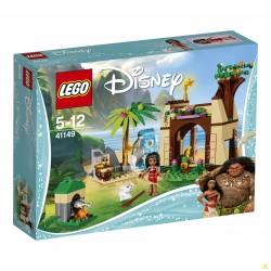 Конструктор LEGO Disney 41149: Приключения Моаны на затерянном острове
