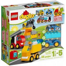 Конструктор LEGO DUPLO 10816: Мои первые машинки