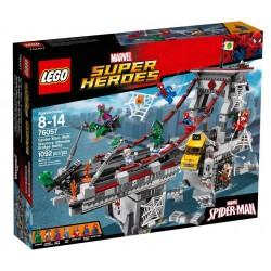 Конструктор LEGO Marvel Super Heroes 76057: Человек-паук: последний бой воинов паутины