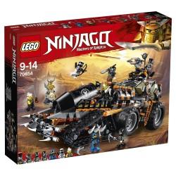 Конструктор LEGO NINJAGO 70654: Стремительный странник