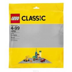 Строительная пластина LEGO Classic 10701 серого цвета