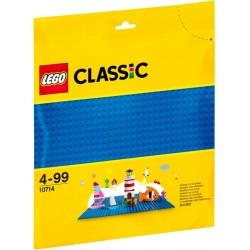 Строительная пластина LEGO Classic 10714 синего цвета