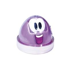 Пластилин для детской лепки сиреневый Smart GUM (светящийся в темноте)