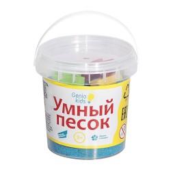 """Набор для творчества """"Умный песок""""  голубой 150г"""