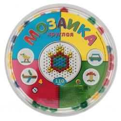 Мозаика круглая, 110 деталей