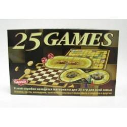 """Настольная игра """"25 игр для всей семьи"""""""